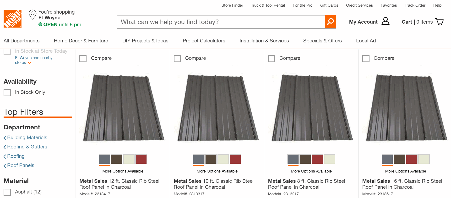 Pre-formed panel roofing is one type of metal roofing that some homeowners in Fort Wayne, IN choose to use.