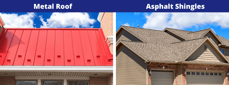 Let the roofing contractors at Perfect Steel Solutions of Fort Wayne, IN assist you in comparing the cons of a metal roof vs asphalt shingles.
