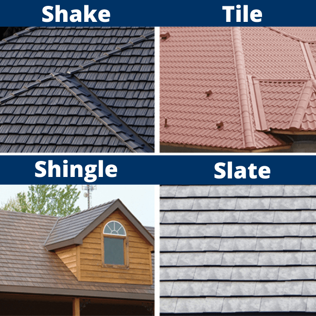 As a roofing contractor in Wabash, IN, we offer four different styles of metal roofing.