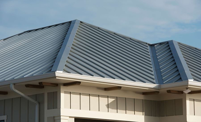 Metal roofing is durable, long-lasting, and environmentally friendly.