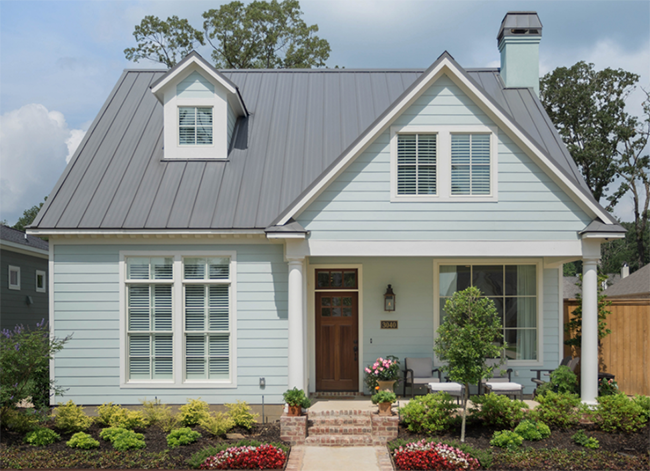 Metal roofing costs more than asphalt shingle initially.