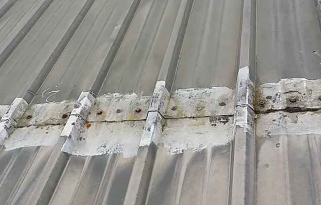 In extreme weather, metal roofing can expand and contract.
